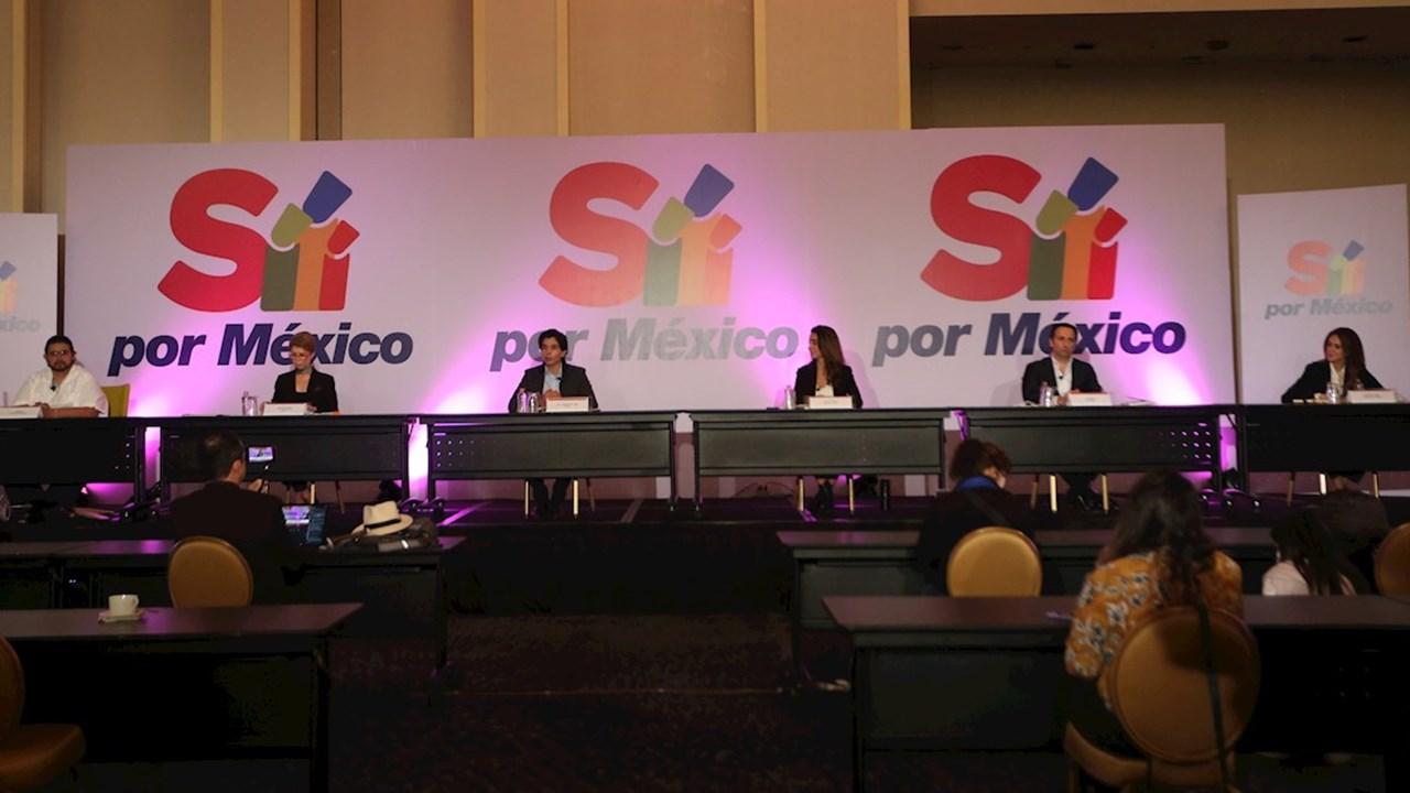 Partidos de oposición se unen a frente 'Sí por México' contra AMLO