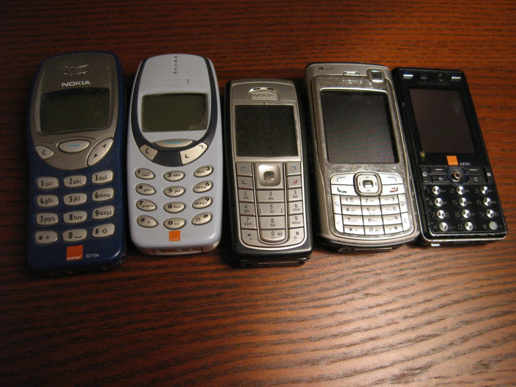 tecnología móvil 5G celulares