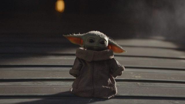 Baby Yoda Disney+ México