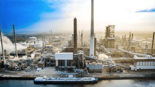 refinería BP