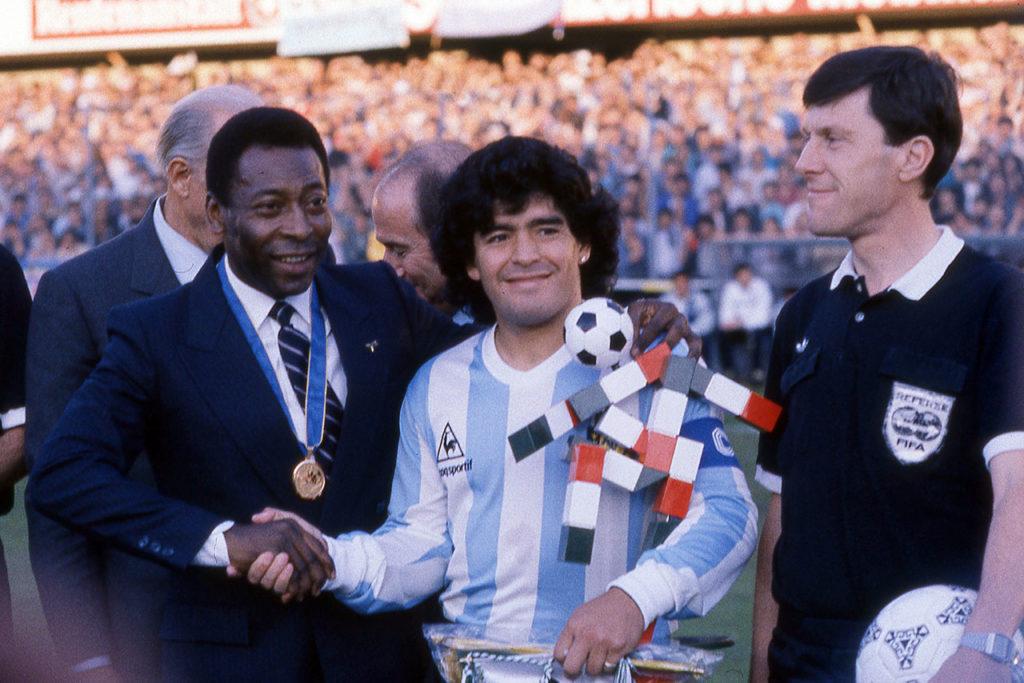 Maradona Pelé