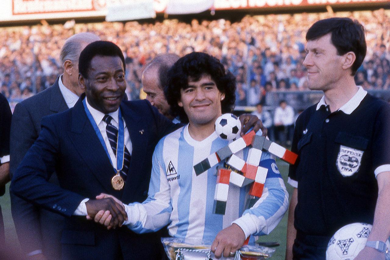 'Algún día patearemos una pelota juntos en el cielo': Pelé sobre muerte de Maradona