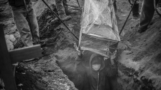 Covid-19 Burials At Valle de Chalco Cemetery Amid Coronavirus Pandemic