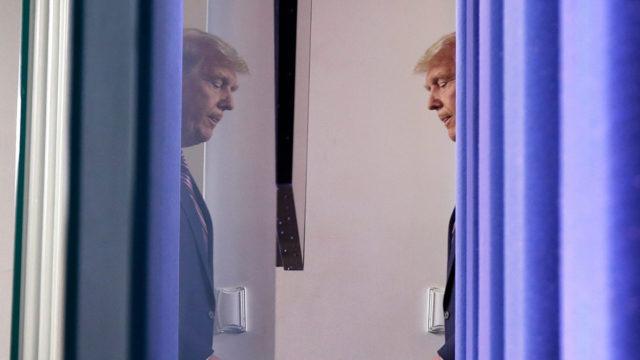 Trump frente a la