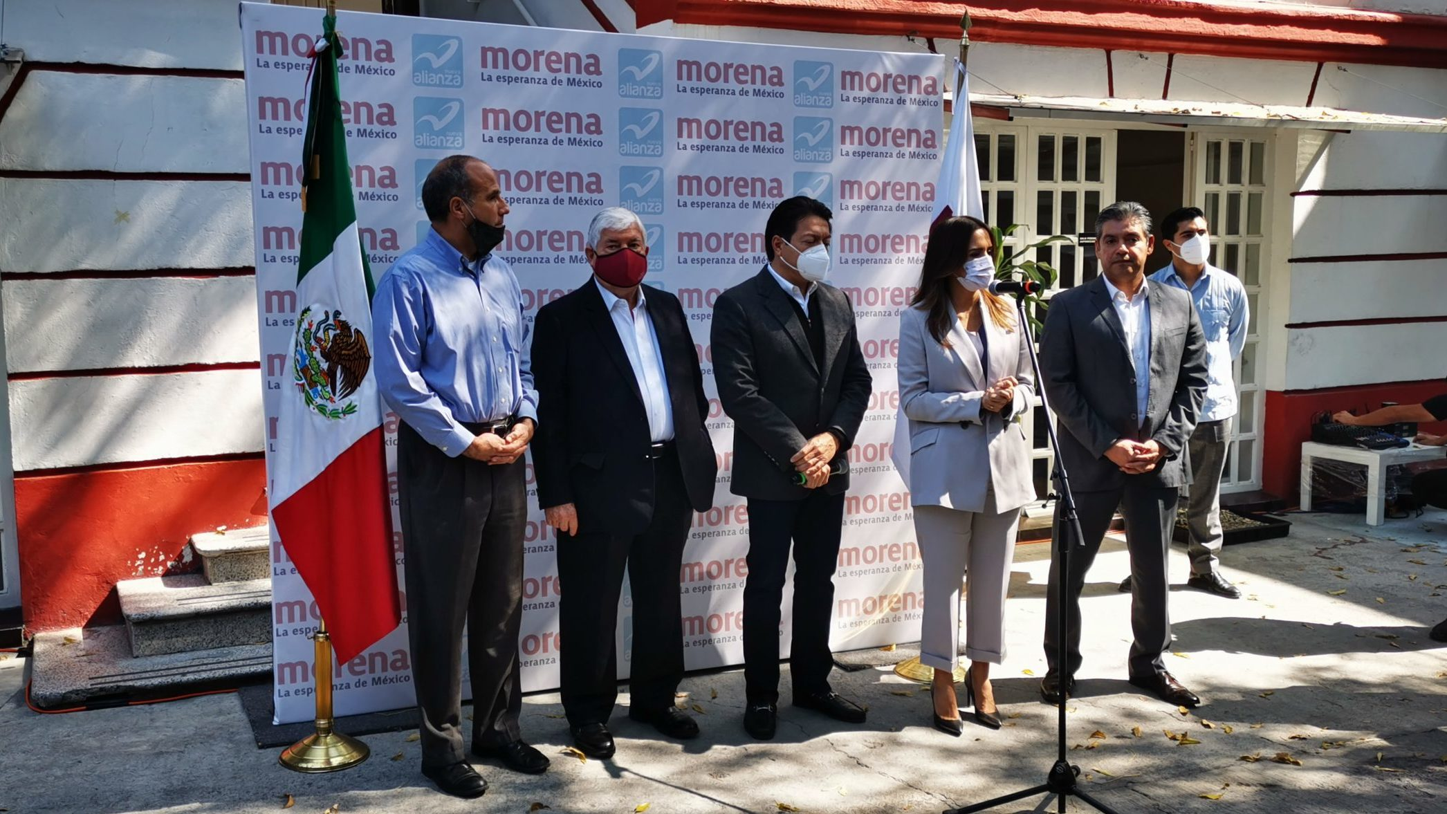 Encuesta entre 4 aspirantes definirá candidatura de Morena en Nuevo León