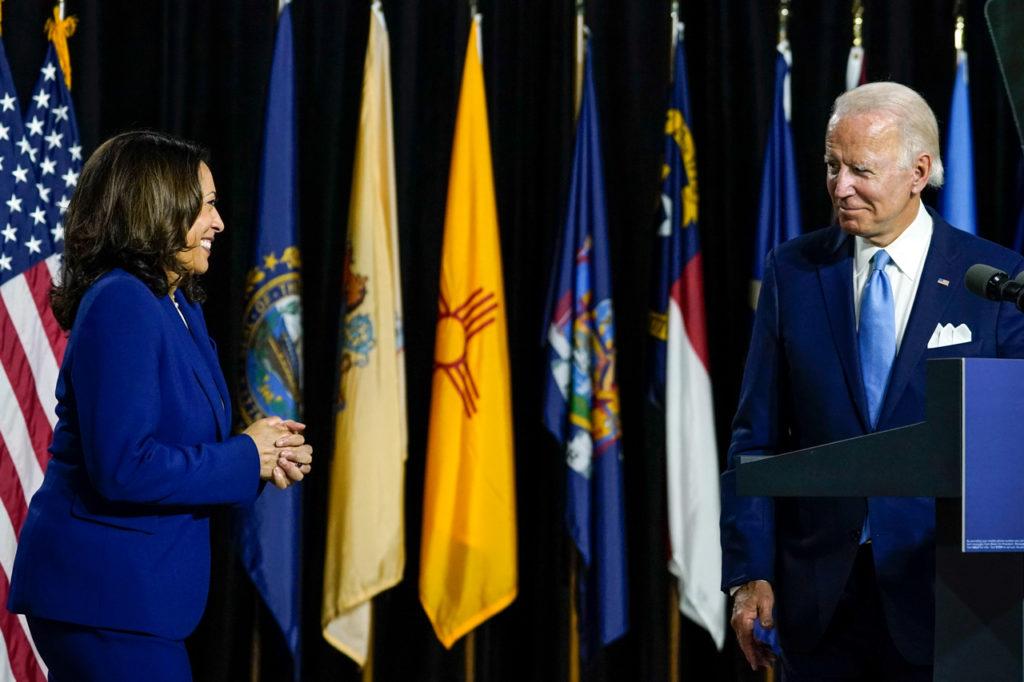 Kamala Harris elecciones estados unidos 2020 - Joe Biden campañas