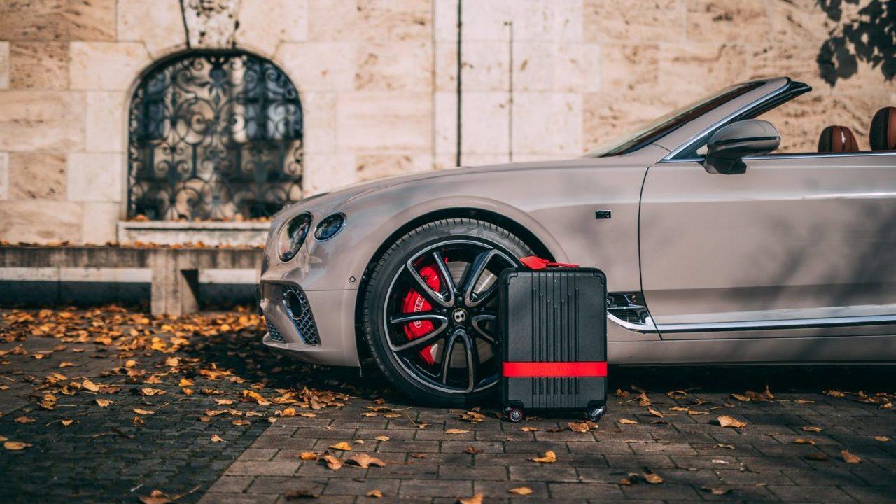 Montblanc y Pirelli diseñan la maleta que vas a querer llevar en tu próximo viaje