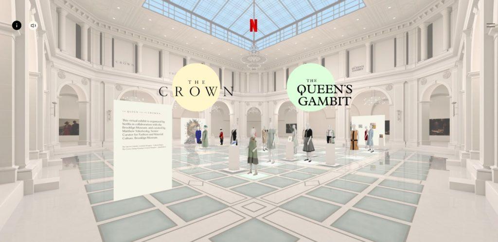 Exposición virtual sobre el vestuario de 'The Crown' y 'Gambito de dama'
