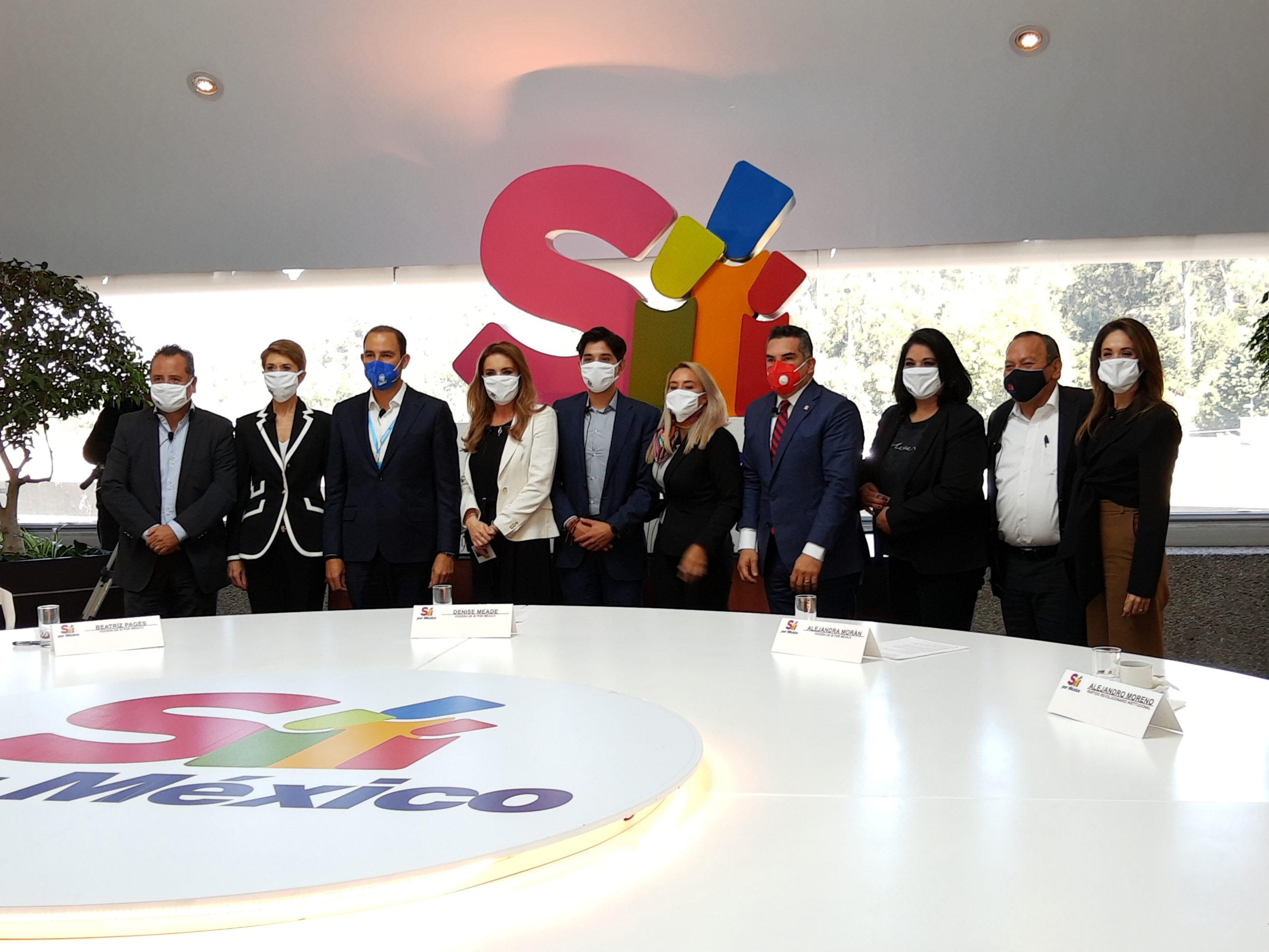 PRI y PRD abren candidaturas a empresarios y activistas para enfrentar a la 4T