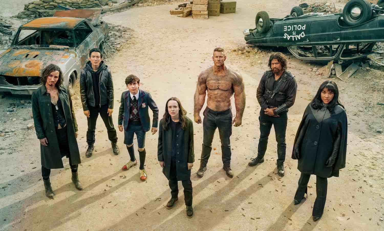 Netflix confirma una tercera temporada para 'The Umbrella Academy'