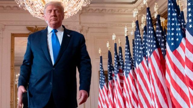 Trump noche de elecciones estados unidos