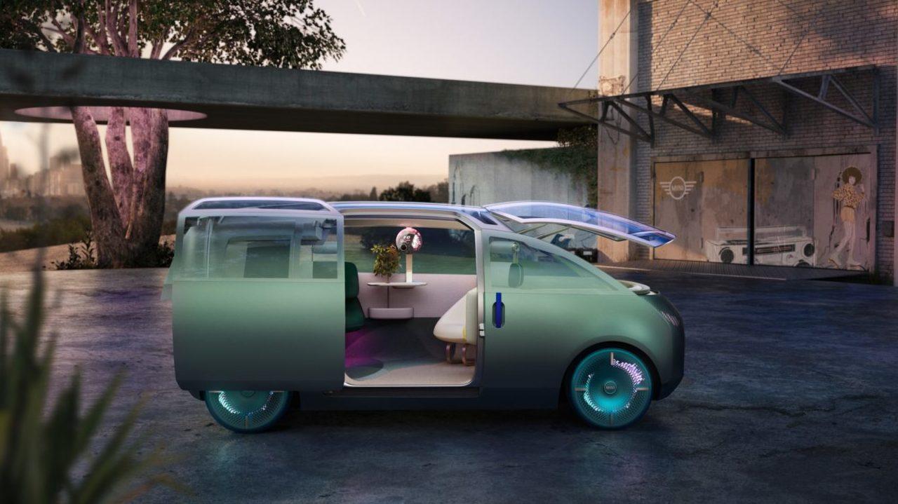 MINI Vision Urbanaut, una ventana al futuro de los autos