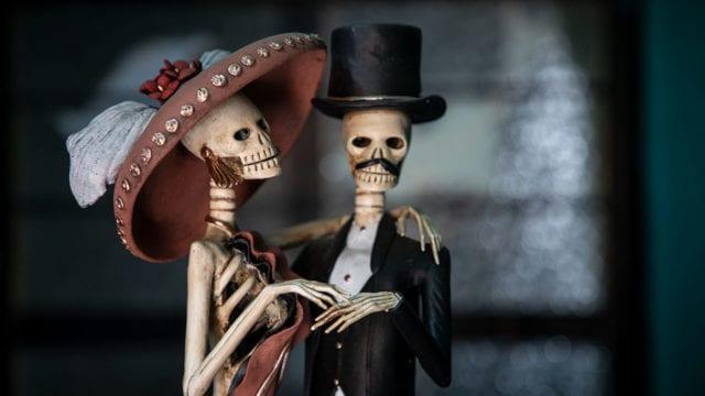 catrinas capula día de muertos