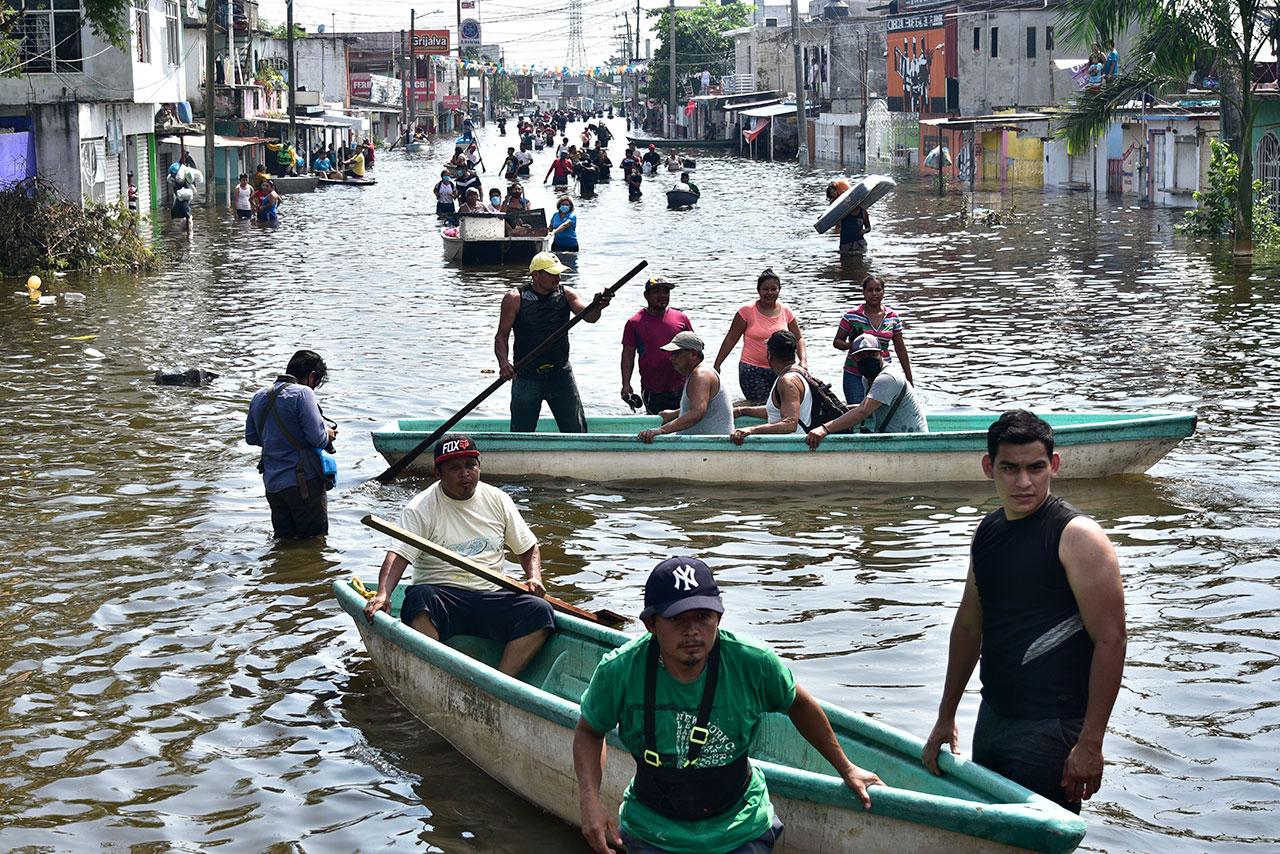 Sin seguro, la mayoría de casas dañadas por inundaciones en Tabasco: AMIS