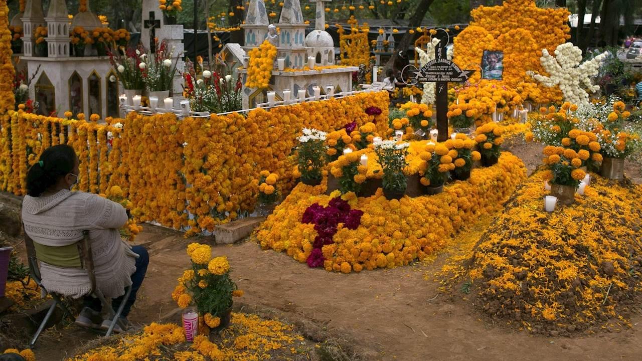 Un Día de Muertos distinto en México por la pandemia