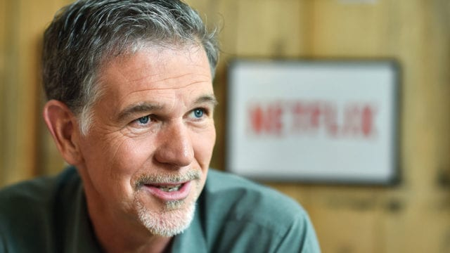Reed Hastings Online video store Netflix starts in Germany