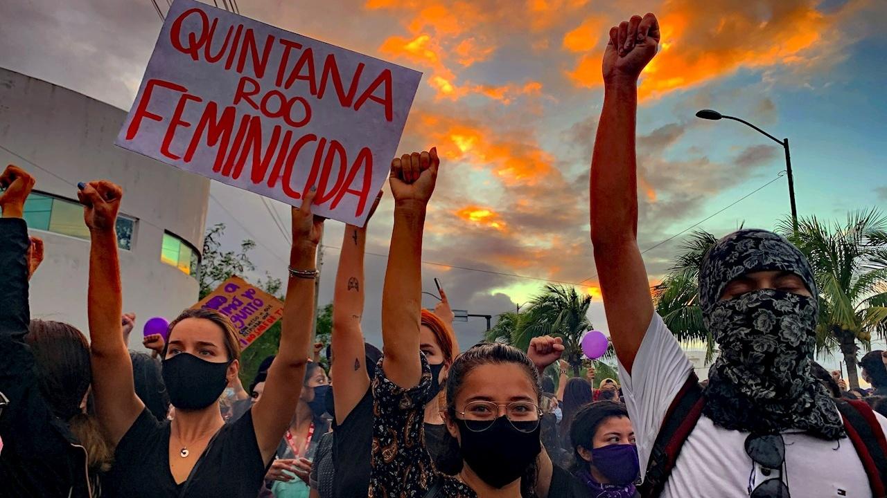 Represión a protestas feministas es una constante en México: AI