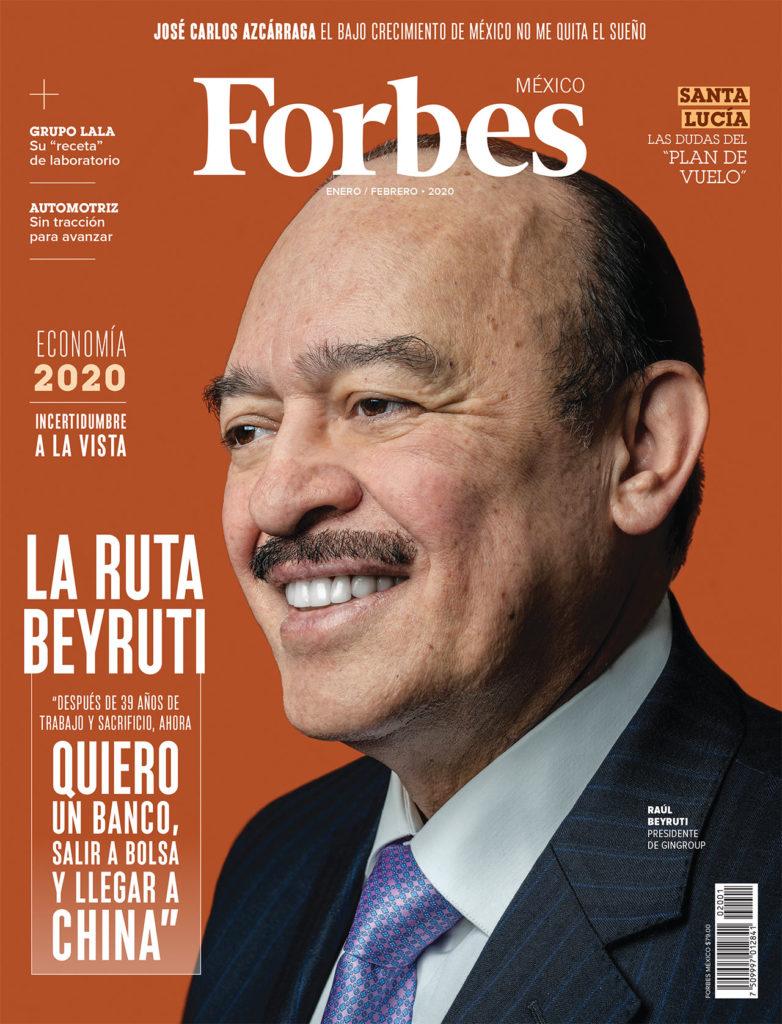 PORTADA FORBES MÉXICO ENERO 2020