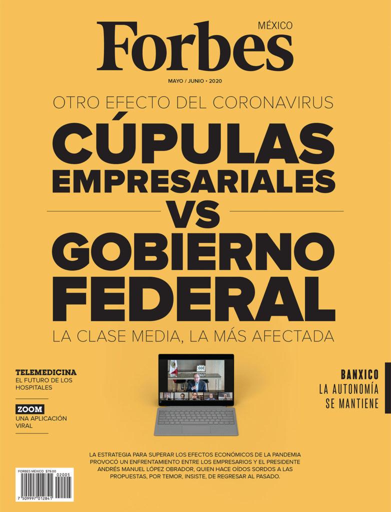 PORTADA FORBES MÉXICO MAYO 2020