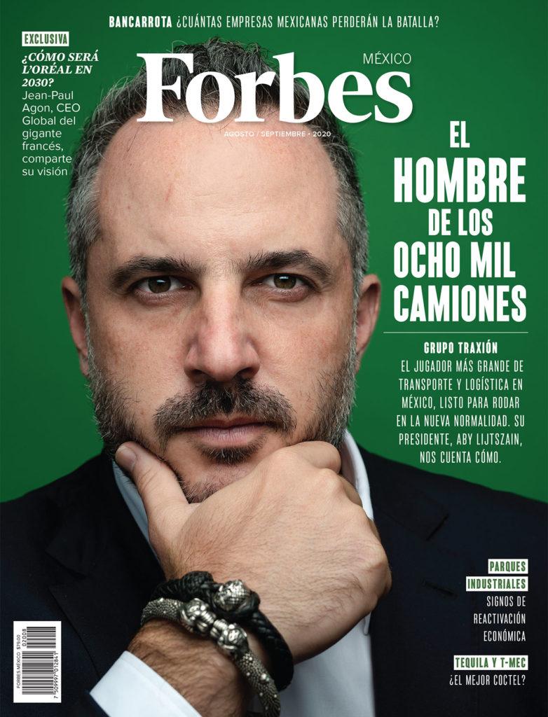 PORTADA FORBES MÉXICO AGOSTO 2020
