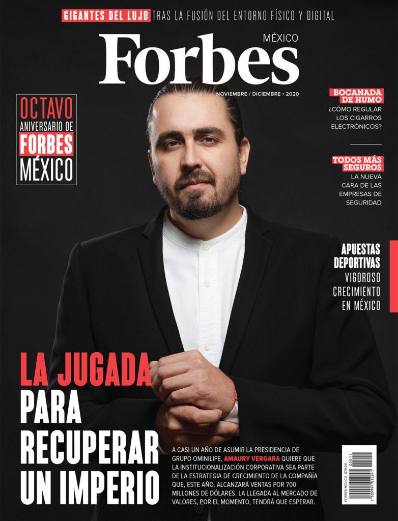 PORTADA FORBES MÉXICO NOVIEMBRE 2020