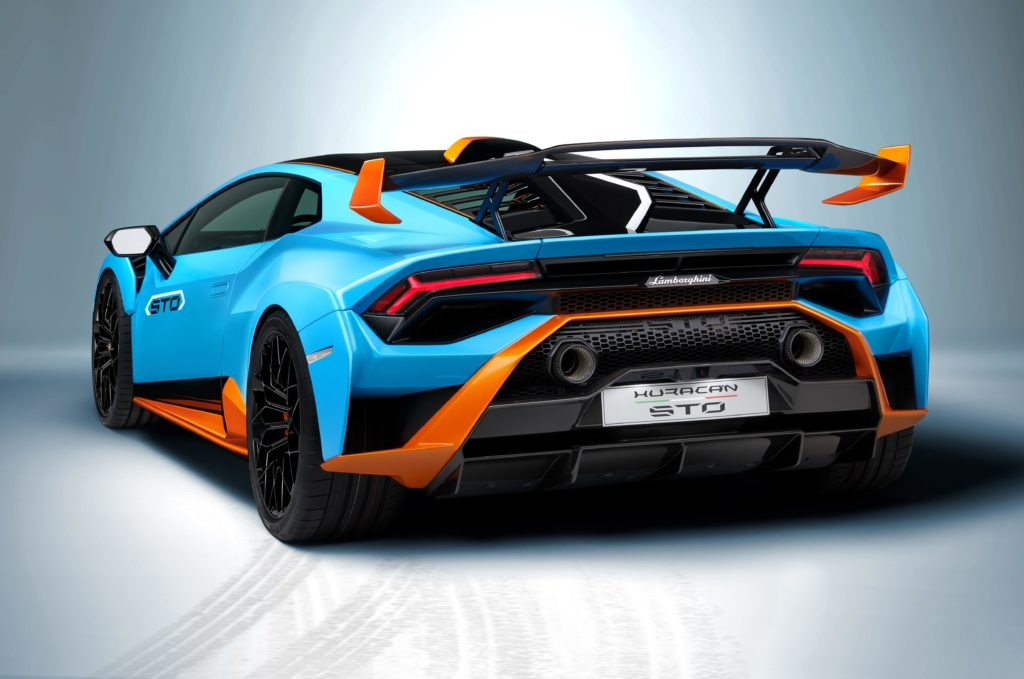 Lamborghini Huracán STO hiperdeportivo