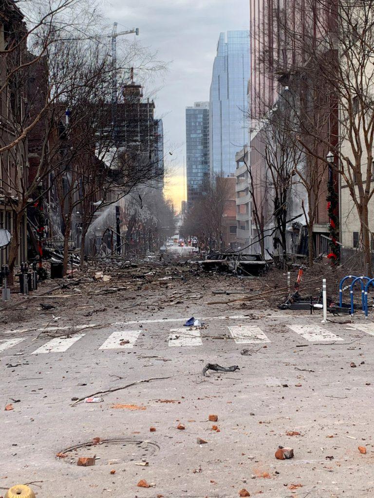 Explosión Nashville