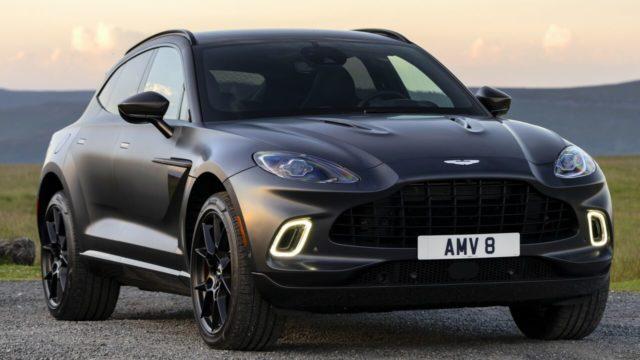 Aston Martin DBX auto