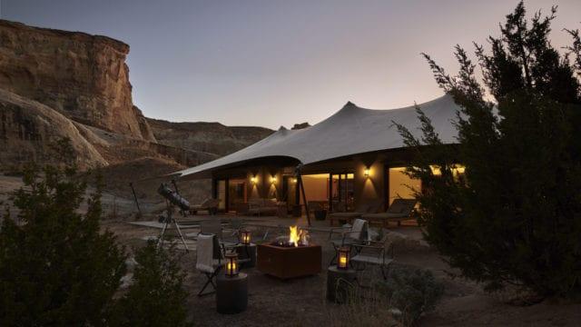 Camp Sarika desierto Utah