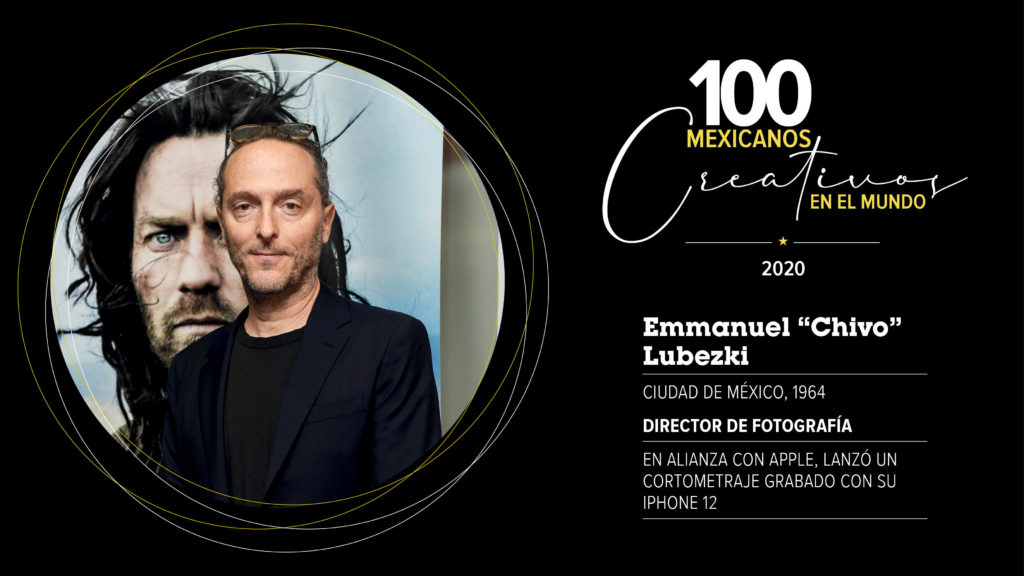 """Emmanuel """"Chivo"""" Lubezki"""