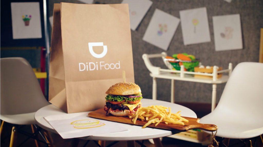 Didi Food Google delivery