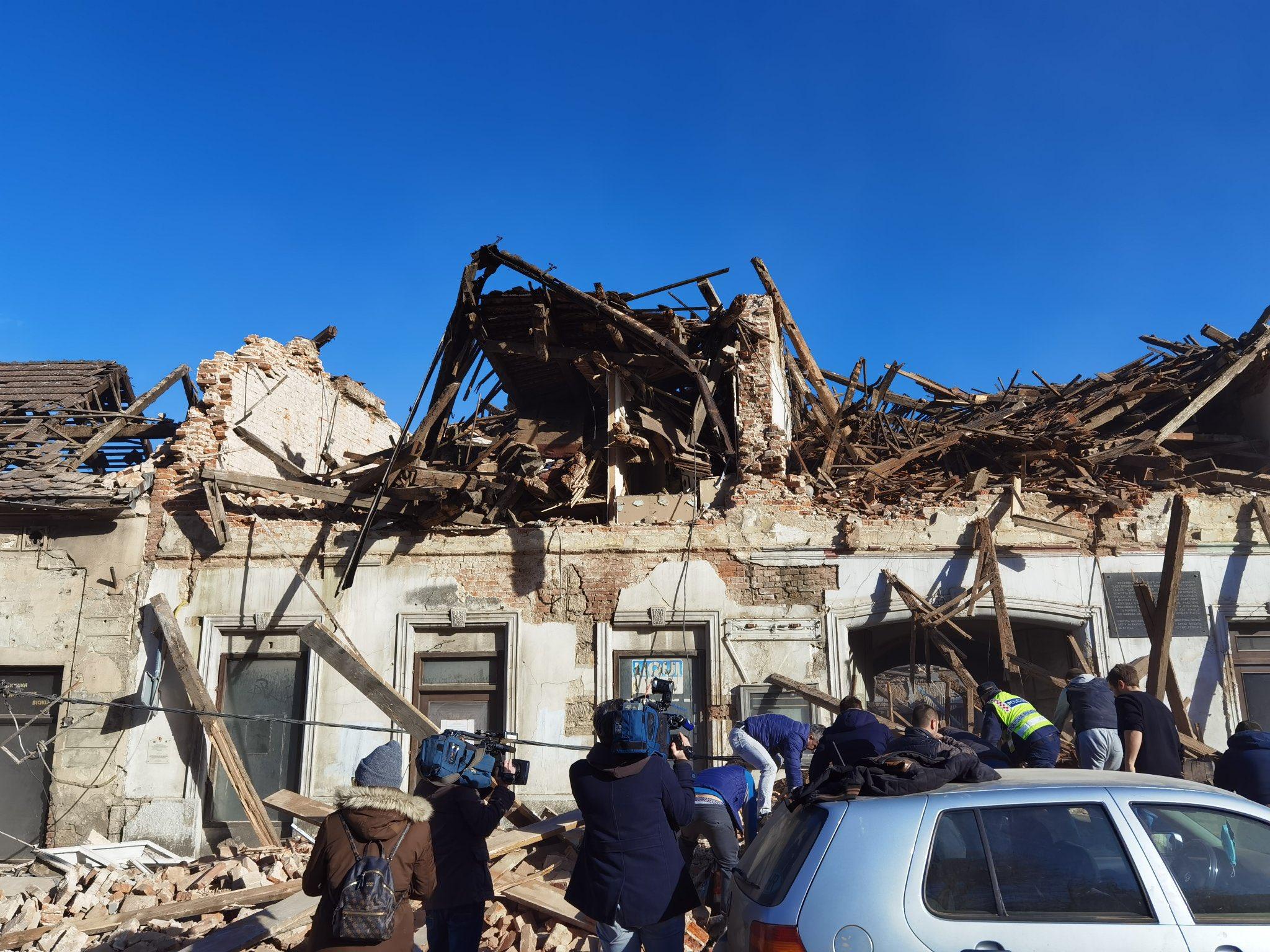Sismo de magnitud 6.3 causa daños y al menos 6 muertes en Croacia