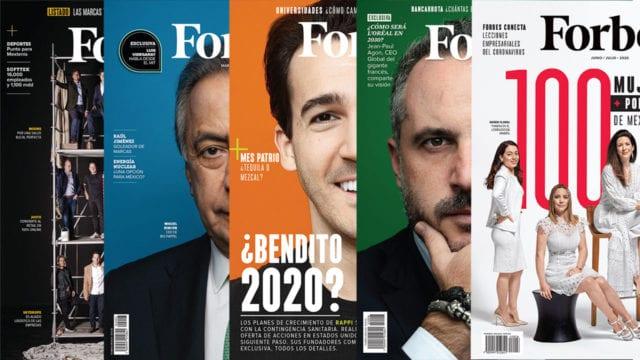 Portadas Forbes 2020