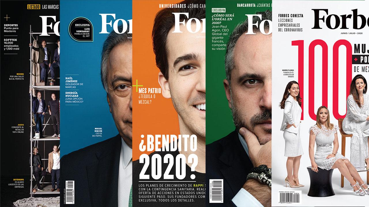 Fotogalería: Las 12 portadas de Forbes México. Adiós 2020