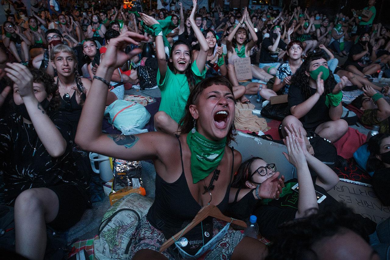 Fotogalería: Argentina marca el rumbo para derechos de la mujer