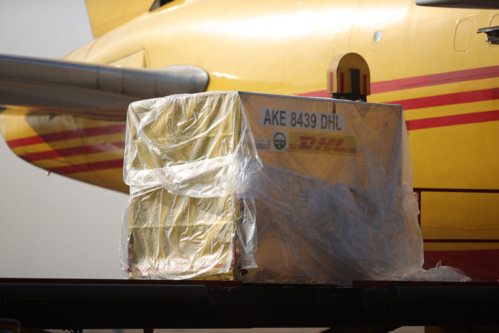 Vacuna First Shipping of Pfzier-BioNTech Covid-19 Vaccine Arrives to Mexico