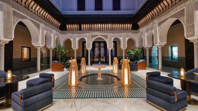 hotel La Mamounia Marraketch.