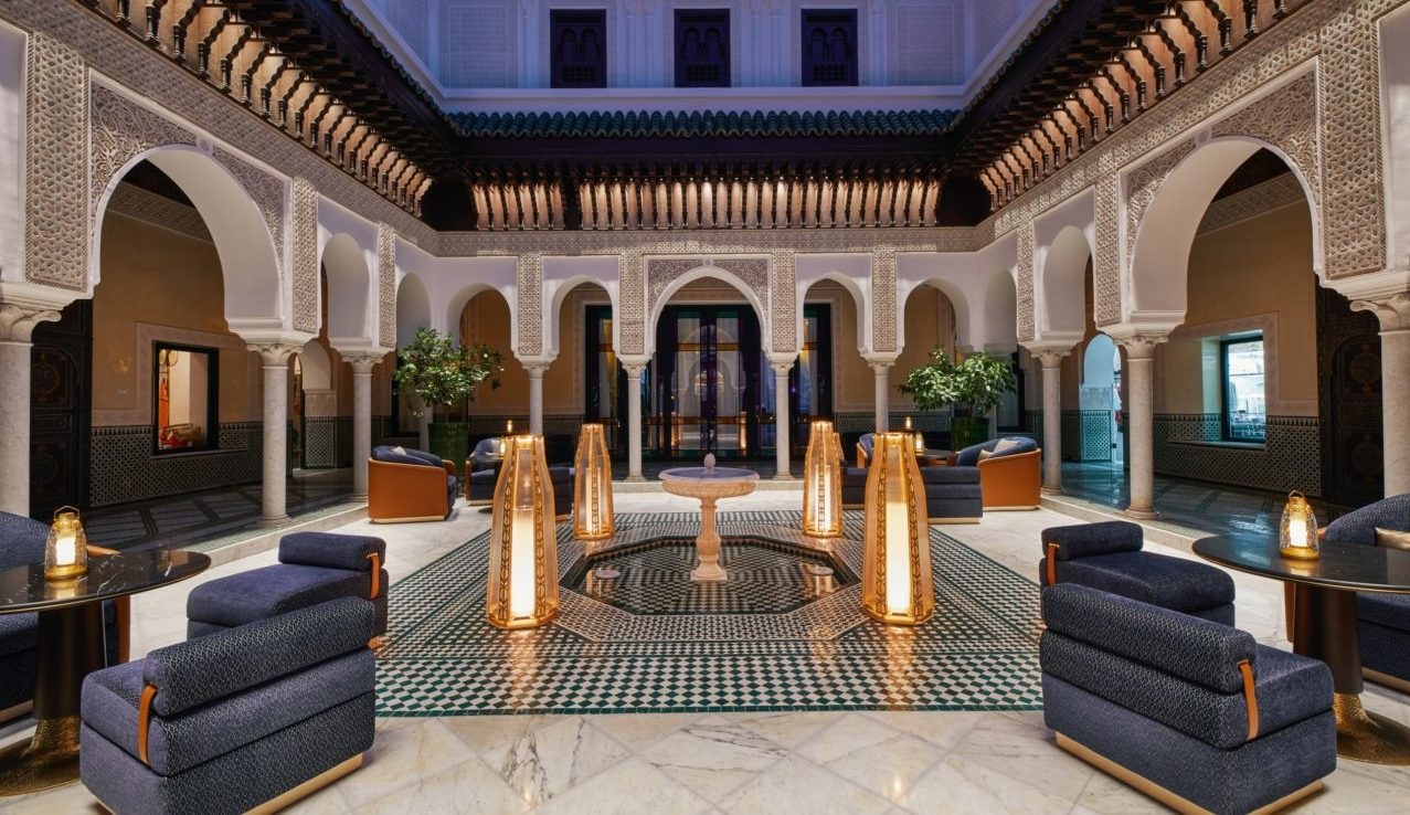 hotel La Mamounia Marraketch.