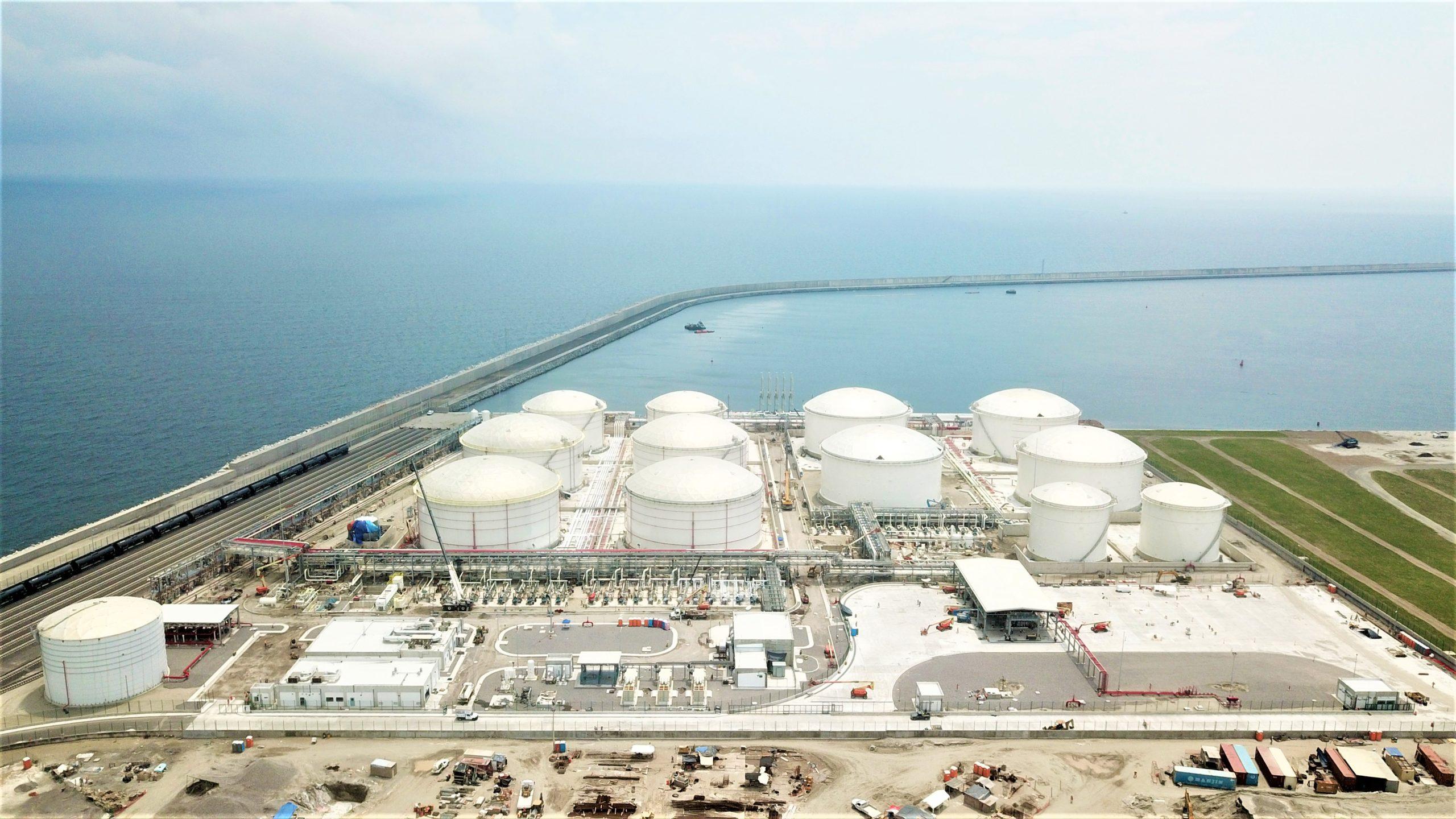 IEnova inicia operaciones de terminal de almacenamiento  en Veracruz
