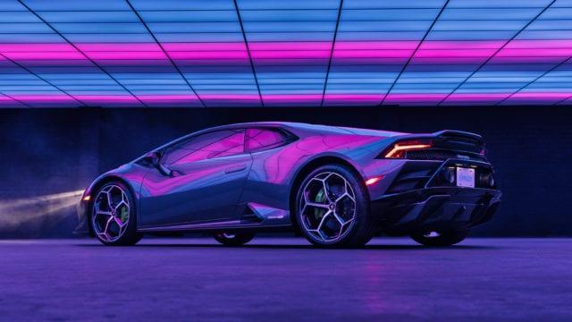 Laddy Gaga Lamborghini