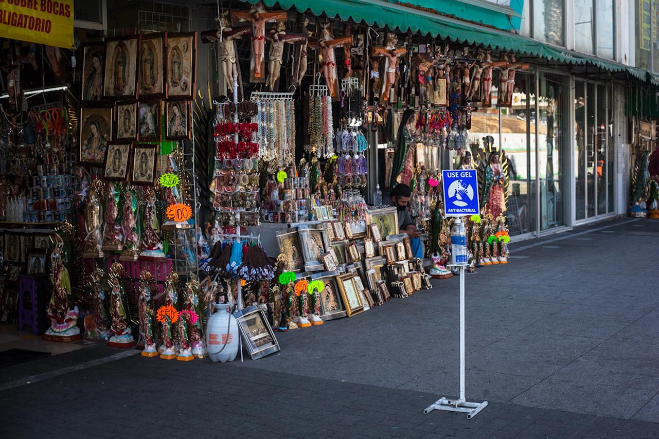 Fotogalería: No llegó el milagro de ventas el día de la Guadalupana