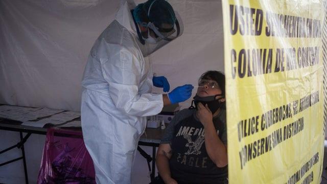 Kioscos pruebas rapidas Covid 19 Pandemia 1 Foto: © Oswaldo Ramírez