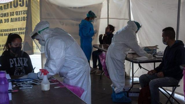 Kioscos pruebas rapidas Covid 19 Pandemia 6