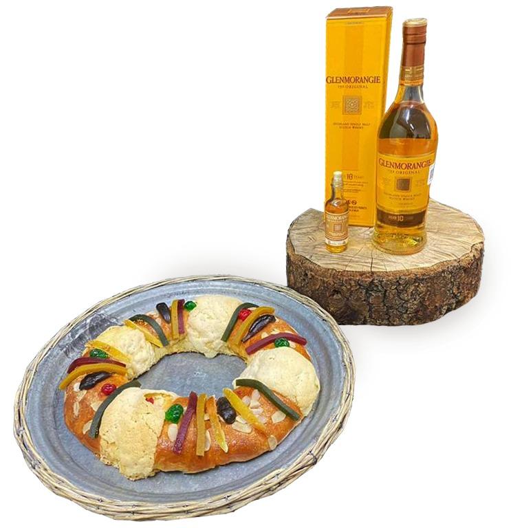 Rosca de Reyes whisky Reyes Magos
