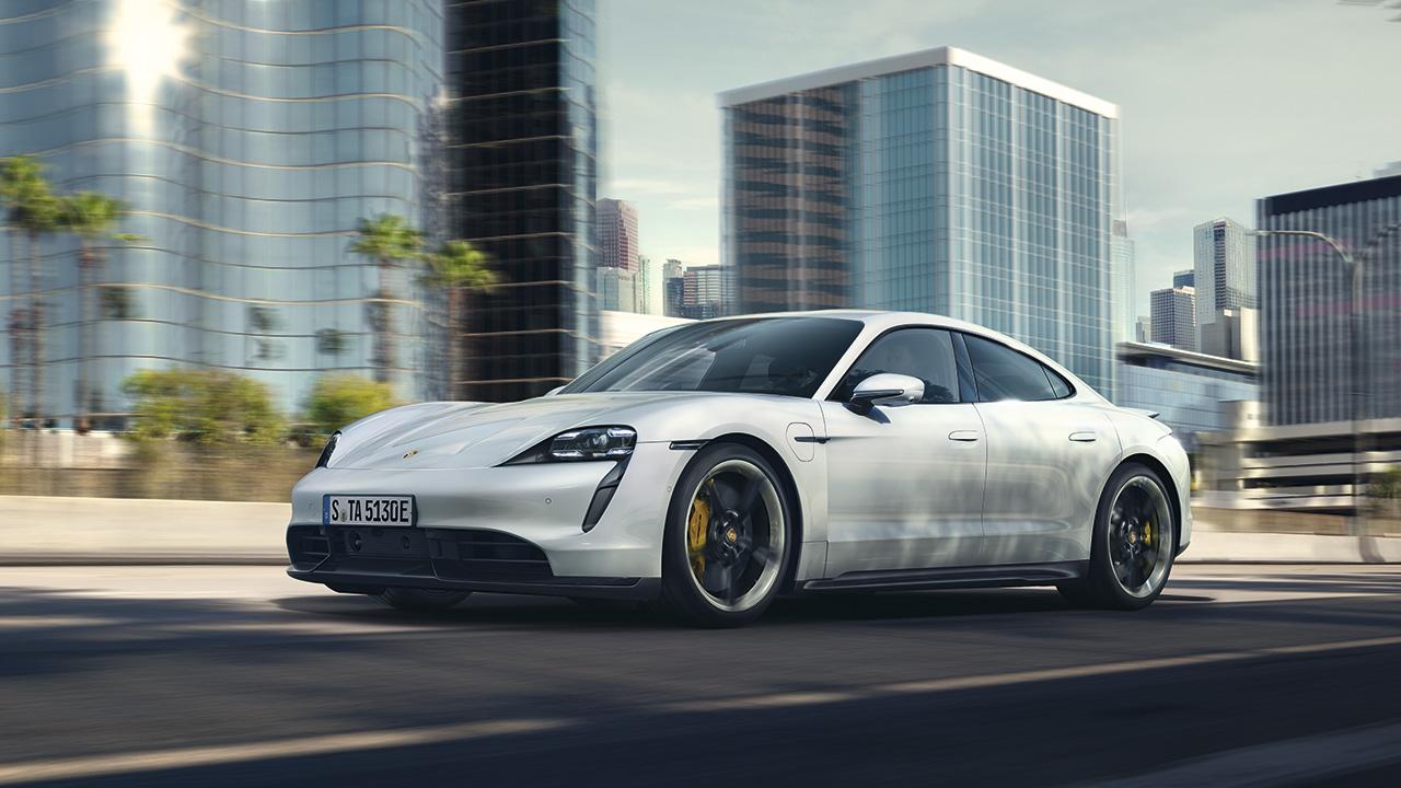 Porsche Taycan: Deportividad electrizante