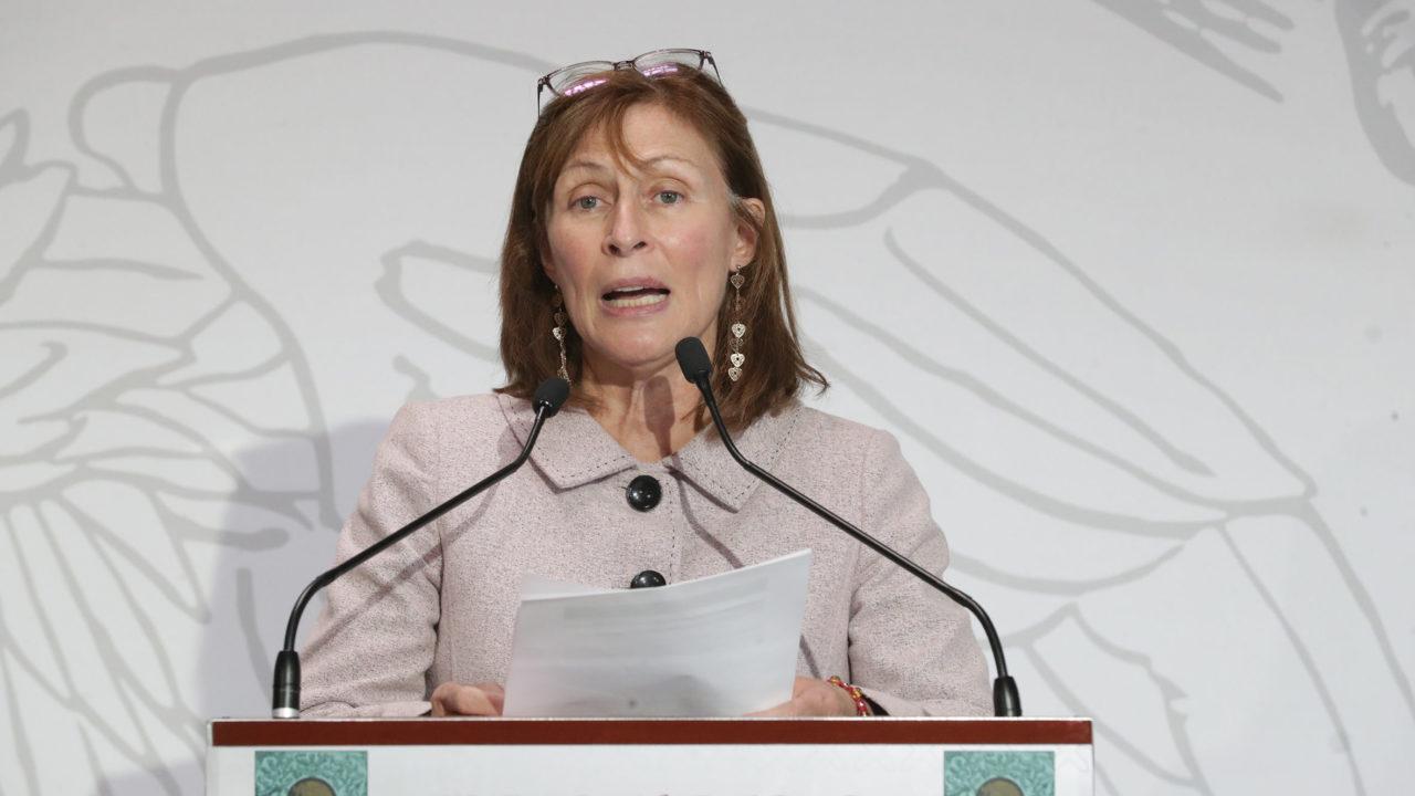 Tatiana Clouthier promueve obras prioritarias ante representantes de Canadá