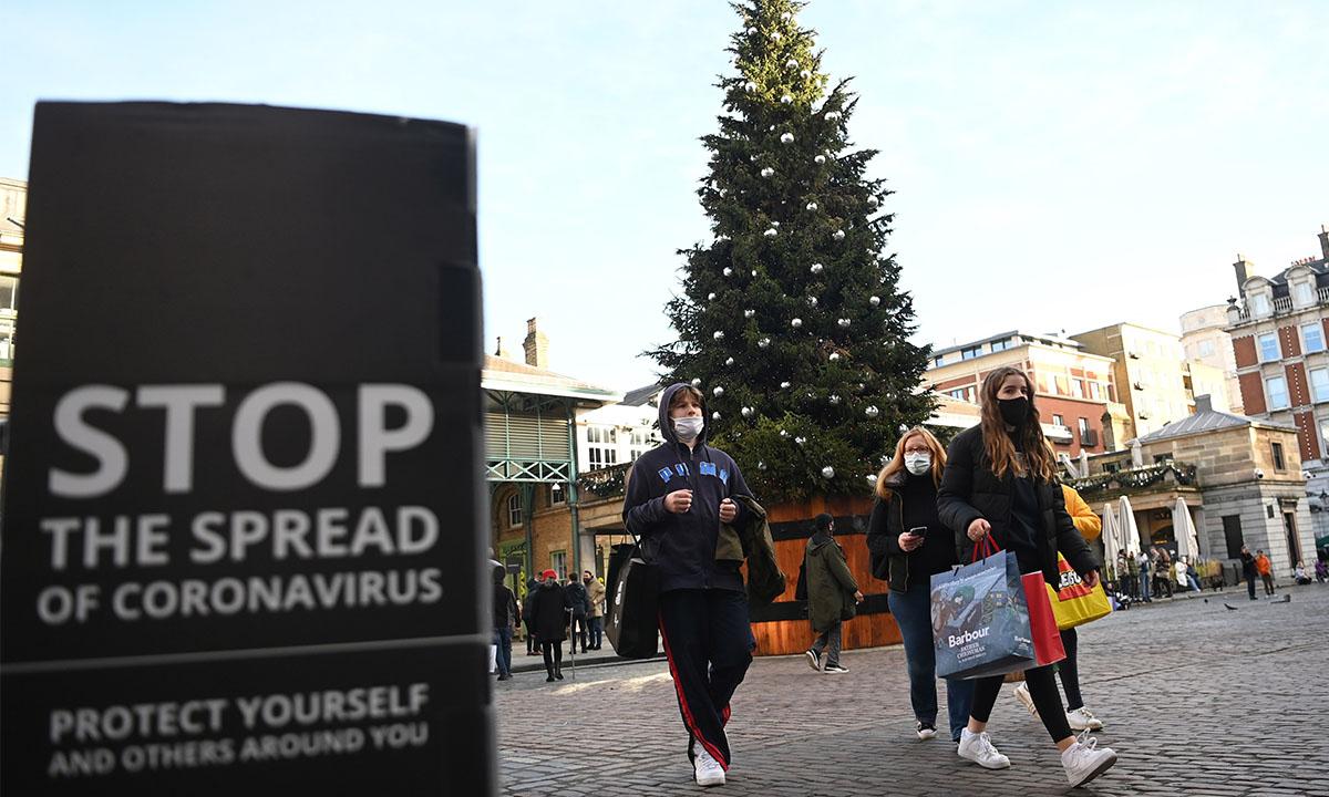 Reino Unido endurece restricciones ante cepa más infecciosa