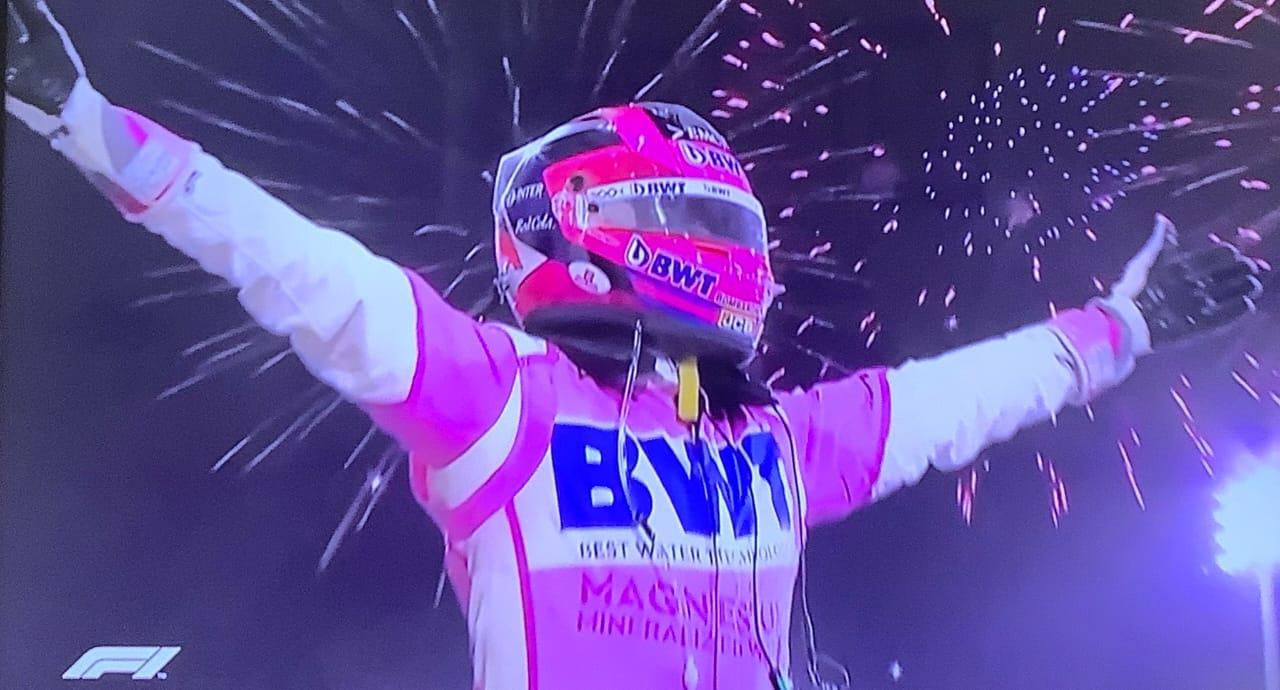 'Checo' Pérez consigue su primera victoria en la Fórmula Uno