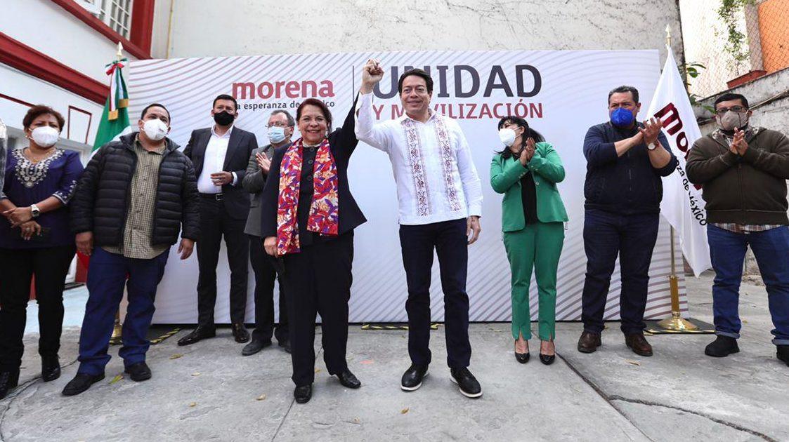 Celia Maya irá por Morena para 'competir' por gobierno de Querétaro