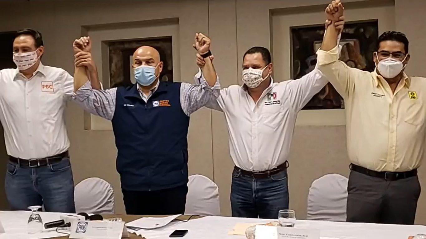 Alianza PRI-PAN en Baja California corre riesgo de fracturarse